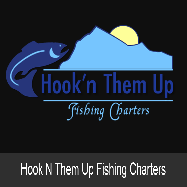 Hook N Them Up Logo Eye Catching Graphic Design