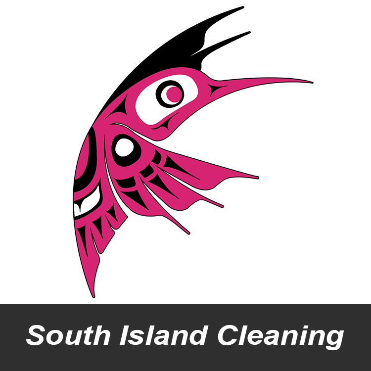 Another Eye Catching Graphic Design South Island Cleaning logo designed by Candu Web Design