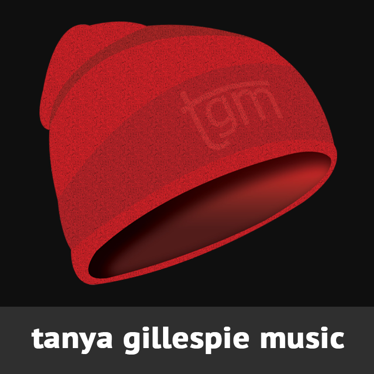 STanya Gillespie Music logo designed by Candu Web Design