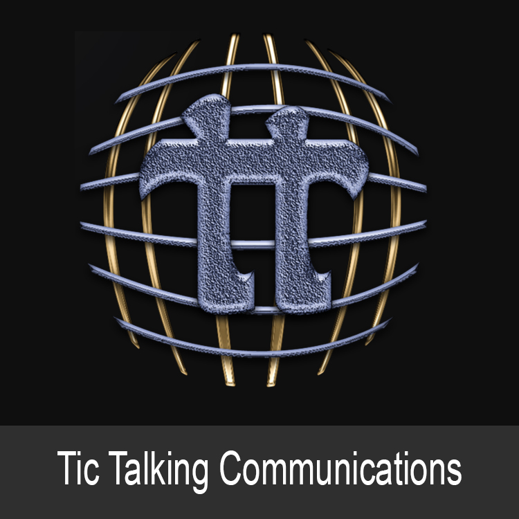Tic Talking Communications Logo Designed by Candu Web Design