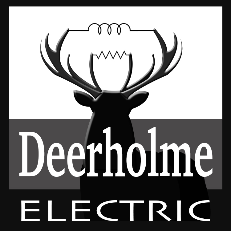 Deerholme Electric Logo Designed by Candu Web Design