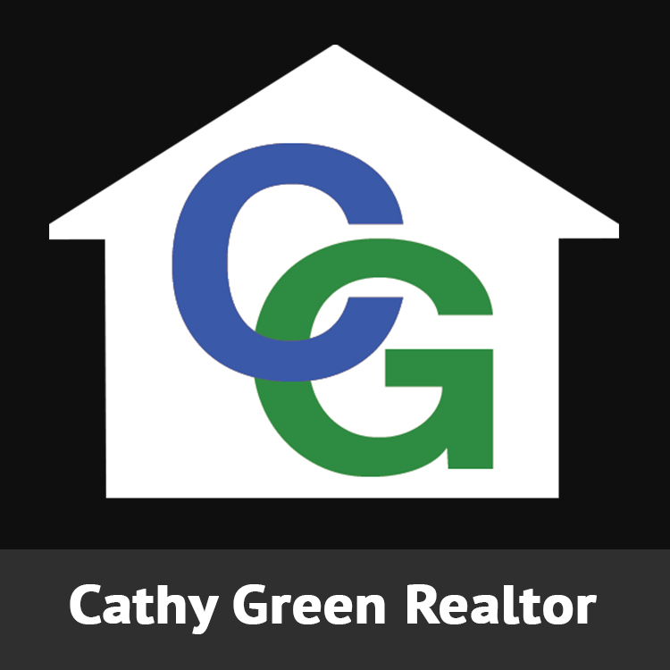 Cathy Green Realtor Logo Designed by Candu Web Design