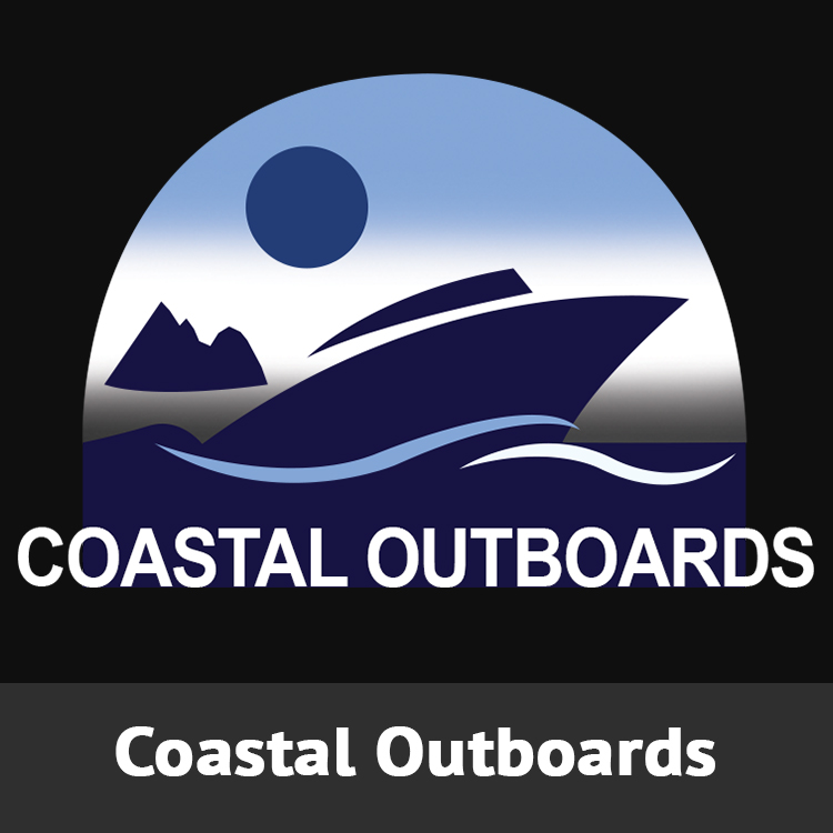 Coastal Outboards Logo Designed by Candu Web Design
