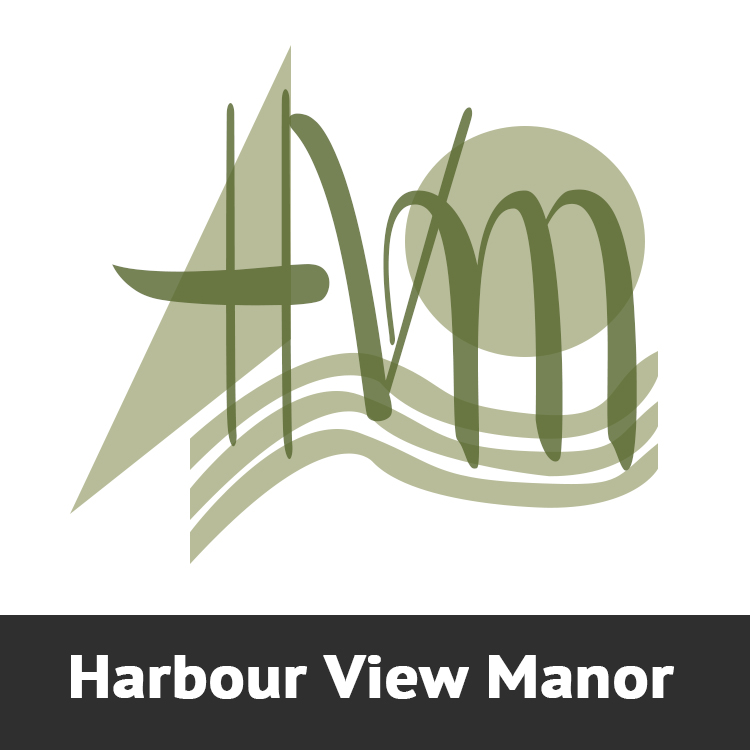 Harbour View Manor Logo Designed by Candu Web Design