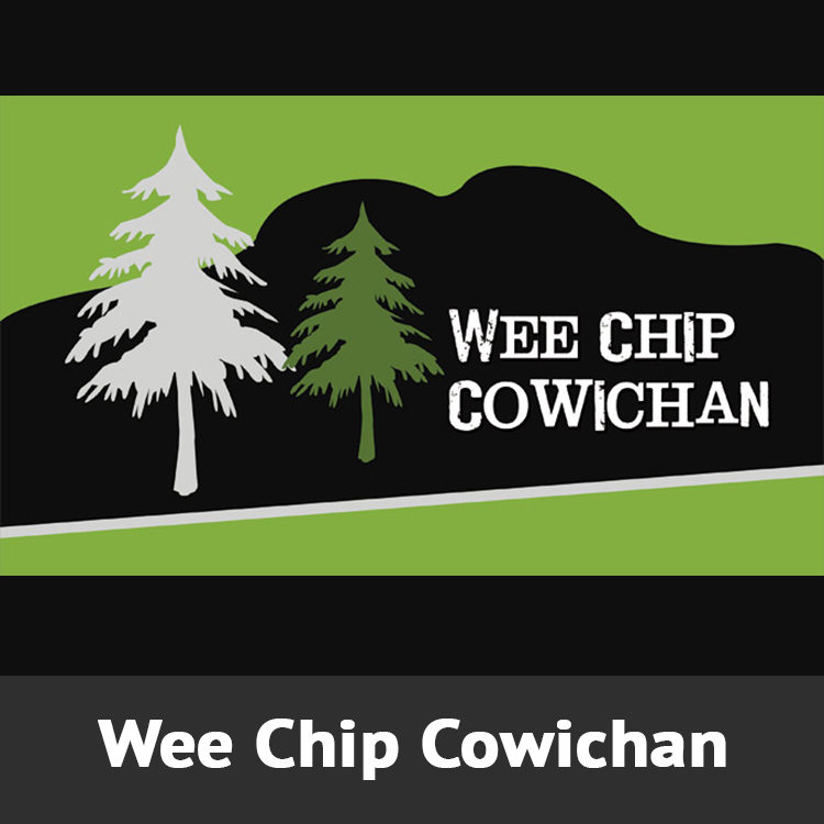 Wee Chip Cowichan Logo Designed by Candu Web Design