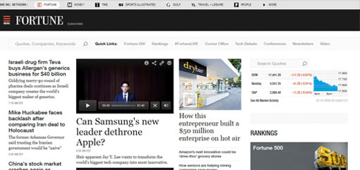 What Well-Known Websites Use WordPress? Fortune