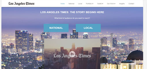 What Well-Known Websites Use WordPress? Los Angeles Times