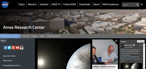 What Well-Known Websites Use WordPress? NASA