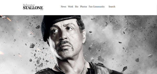 What Well-Known Websites Use WordPress? Sylvester Stallone