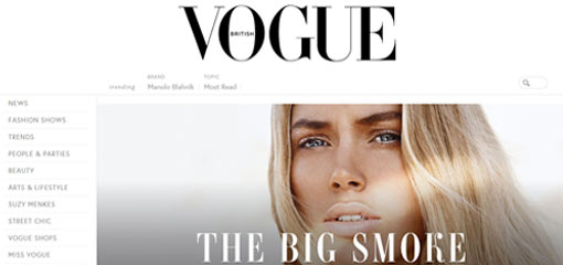 What Well-Known Websites Use WordPress? Vogue