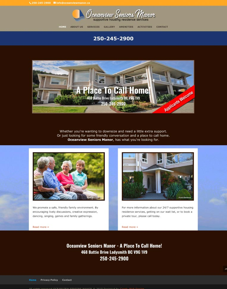 Amazing Clients Portfolio by Candu Web Design - Victoria BC